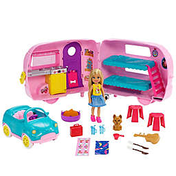 Mattel Barbie® 16-Piece Club Chelsea™ Camper Playset