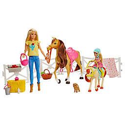 Mattel 20-Piece Barbie® Hugs 'n Horses Playset and Accessories