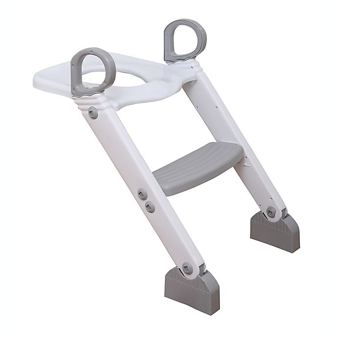 Alternate image 1 for Dreambaby® Step-Up Toilet Topper in Grey/White