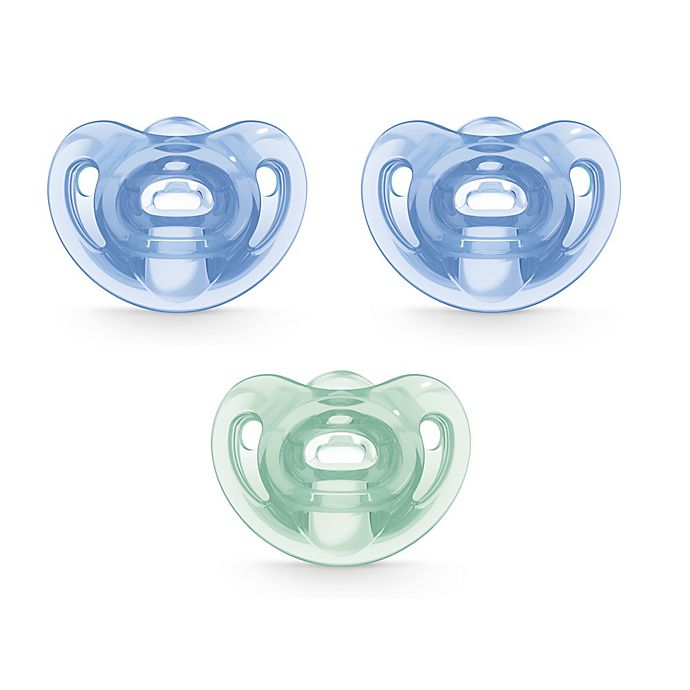 Alternate image 1 for NUK® Comfy™ 3-Pack Orthodontic Pacifiers