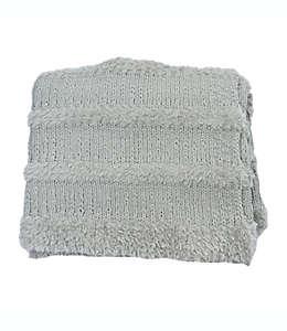 Frazada de poliéster Bee & Willow™ Cozy color gris