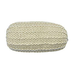 Bee & Willow™ Knit Bolster Throw Pillow in Ivory