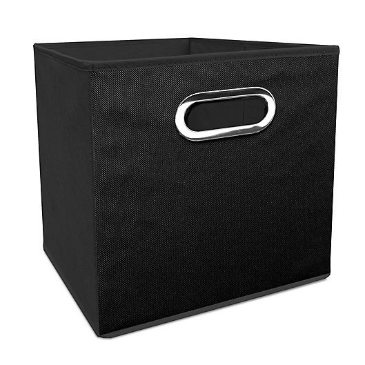 Alternate image 1 for Simply Essential™ 11-Inch Collapsible Bin in Black