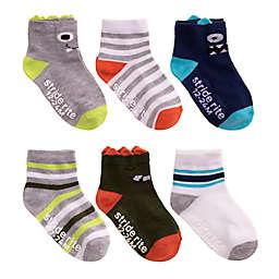 Stride Rite® Size 6-Pack Monster Ankle Socks