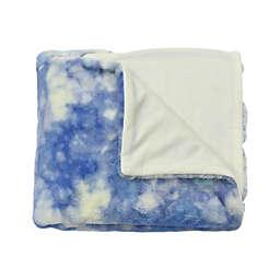 Wild Sage™ Tie Dye Throw Blanket in Blue