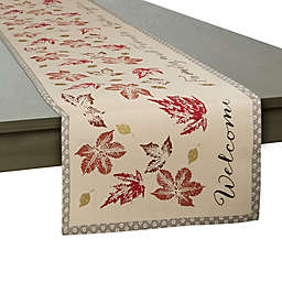 Gather Together 108-Inch Table Runner in Tan/Multi