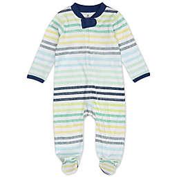 The Honest Company® Rainbow Stripes Organic Cotton Sleep & Play in Blue