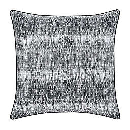 Oscar/Oliver Brixton Square Throw Pillow in Black