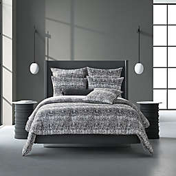 Oscar/Oliver Brixton 2-Piece Reversible Twin/Twin XL Comforter Set in Black