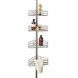 Simply Essential™ 4-Tier Tension Pole Shower Caddy