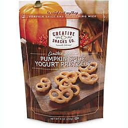 Creative Snacks 9 oz. Pumpkin Spice Yogurt Pretzels