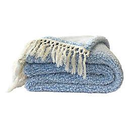 Wild Sage™ Naomi Sherpa Throw Blanket in Open Air