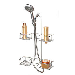 Simply Essential™ 4-Tier Shower Hose Caddy in Brushed Nickel