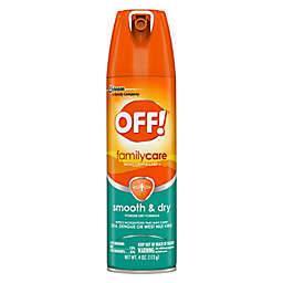 OFF!® 4 oz. FamilyCare Smooth & Dry Insect Repellent I Powder Dry Aerosol Spray