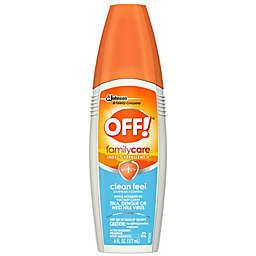 OFF!® 6 fl. oz. FamilyCare Clean Feel Insect Repellent II Spray with Picaridin