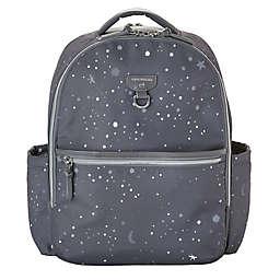 TWELVElittle On-The-Go Diaper Backpack in Grey Twinkle