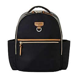 TWELVElittle Tiny-Go Diaper Backpack in Black/Tan