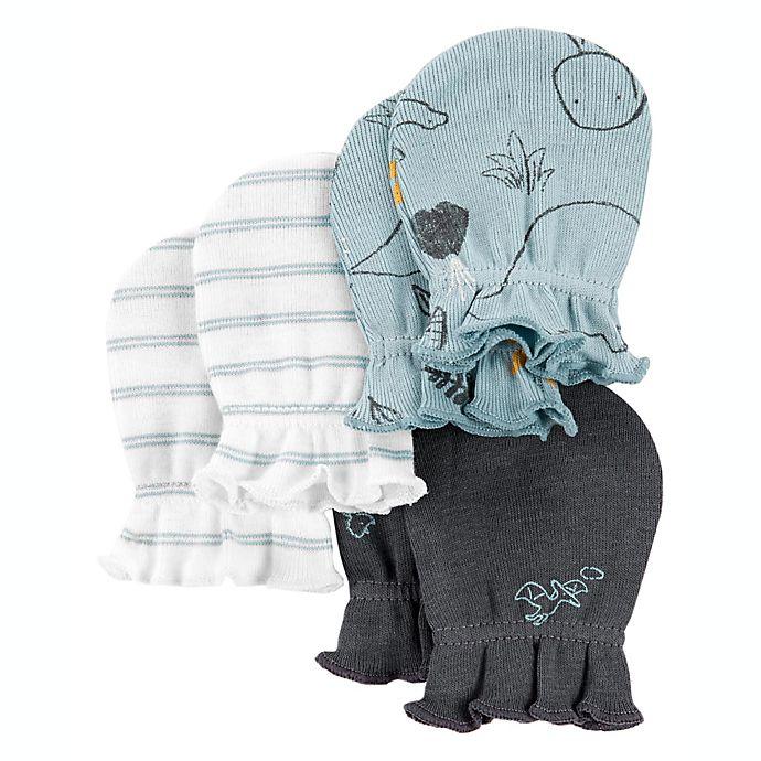 Alternate image 1 for carter's® 3-Pack Dino Mittens