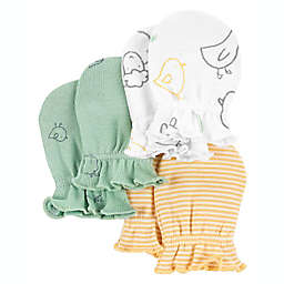 carter's® 3-Pack Mittens in Ivory