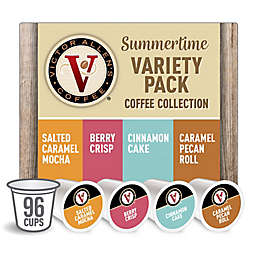 Victor Allen® Summertime Variety Pack Coffee Pods for Single Serve Coffee Makers 96-Count