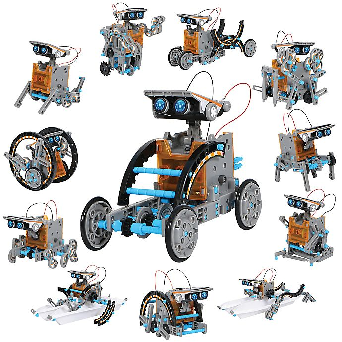 Alternate image 1 for Discovery™ 190-Piece Solar Vehicle Toy Construction Set
