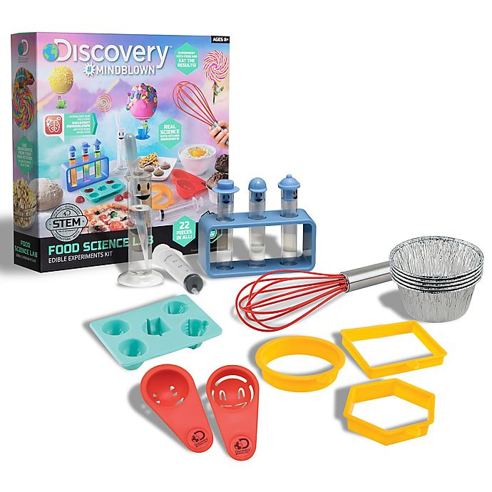 Alternate image 1 for Discovery™ MINDBLOWN Food Science Lab Experiment Kit