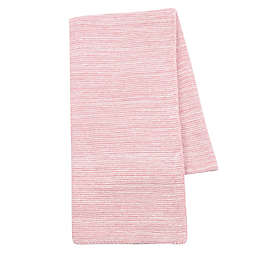 Lambs & Ivy® Signature Textured Knitted Baby Blanket in Pink
