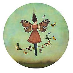 Courtside Market Butterfly Beauty Peel & Stick Circular Wall Decal