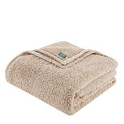 Woolrich® Burlington Berber King Blanket in Tan