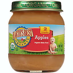 Earth's Best® 4 oz. Stage 2 Organic Apples Baby Food