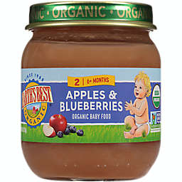 Earth's Best® 4 oz. Stage 2 Organic Apples & Blueberries Baby Food