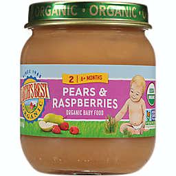 Earth's Best® 4 oz. Stage 2 Organic Pears & Raspberries Baby Food