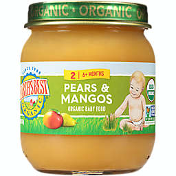Earth's Best® 4 oz. Stage 2 Organic Pears & Mangos Baby Food