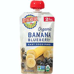 Earth's Best® Organic 4 oz. Banana Blueberry Baby Food Puree