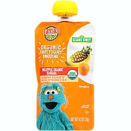 Earth's Best® Organic 4.2 oz. Sesame Street Pineapple Orange Banana Fruit Yogurt Smoothie