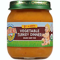 Earth's Best® 4 oz. Stage 2 Organic Vegetable Turkey Baby Food