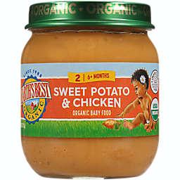 Earth's Best® 4 oz. Stage 2 Organic Sweet Potato Chicken Baby Food