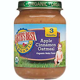Earth's Best® 6 oz. Stage 3 Organic Apple Cinnamon Oatmeal Baby Food