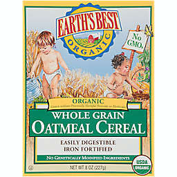 Earth's Best® Organic 8 oz. Whole Grain Oatmeal Cereal
