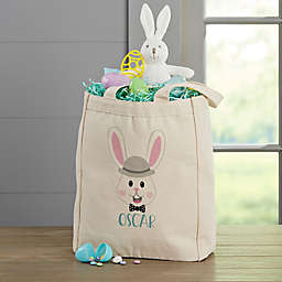 Build Your Own Easter Bunny 14-Inch Canvas Tote Bag in Beige