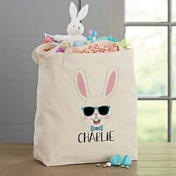 Build Your Own Easter Bunny 20-Inch Canvas Tote Bag in Beige
