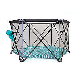 Baby Delight®  Go With Me™  Haven Portable Playard in Teal/Grey