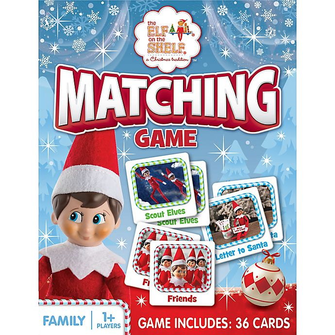 Alternate image 1 for MasterPieces® Elf on the Shelf Matching Game