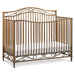 Million Dollar Baby Classic Noelle 4-in-1 Convertible Crib in Vintage Gold