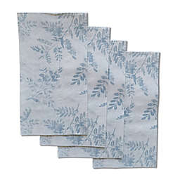 Bee & Willow™ Stamped Leaves 32-Count Paper Guest Towels in Taupe
