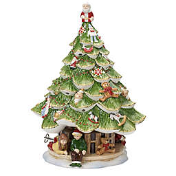 Villeroy & Boch Christmas Toys Memory Musical Christmas Tree Figure in Green