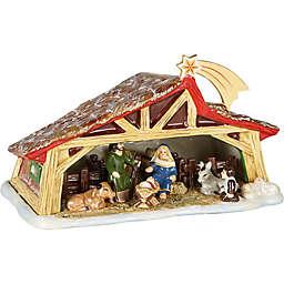 Villeroy & Boch Christmas Toys Memory Nativity Scene in Red