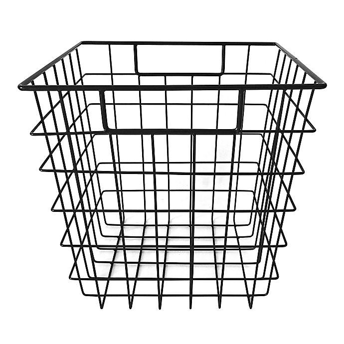 Alternate image 1 for Simply Essential™ 11-Inch Wire Storage Bin