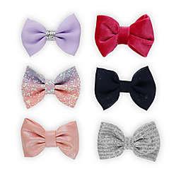 Capelli® New York 6-Piece Bow Clip Box Set in Multicolor