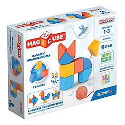 Geomag™ Magicube™ 9-Piece Magnetic Building Block Set in Blue/Multi